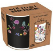 Albi Changing mug Flowers with stems 310 ml
