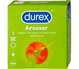 Durex Arouser condom, nominal width 53 mm 3 pieces