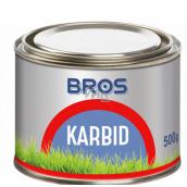 Bros Carbide granulated to repel moles 500 g