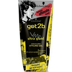 Got2b Ultra Glued the strongest hair gel 150 ml