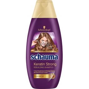 Schauma Keratin Strong posilující šampon pro jemné nebo slabé vlasy 250 ml