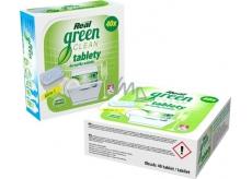Real Green Clean All in 1 bezfosfátové tablety do myčky nádobí 40 kusů