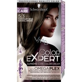 Schwarzkopf Color Expert barva na vlasy 5.3 Přirozeně hnědý
