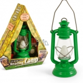 If The Base Camp Reading Lamp Green 44 x 40 x 117 mm