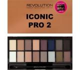 Makeup Revolution Iconic Pro 2 Palette eye shadow palette 16 g