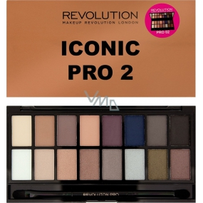 Makeup Revolution Iconic Pro 2 eye shadow palette 16 g
