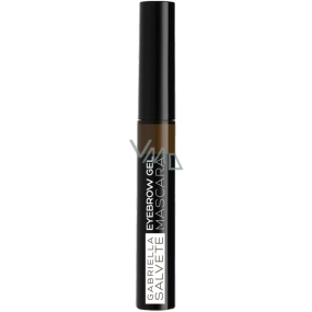 Gabriella Salvete Eyebrow gel eyebrow mascara 02 Brunette 6.5 ml