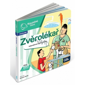 Albi Magic reading interactive mini-book Veterinarian