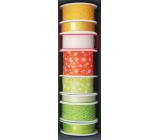 Nekupto Apricot fabric ribbon 3 mx 25 mm