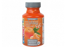 Kittfort Color Line 2in1 liquid tinting and painting paint 03 Mandarin 350 g
