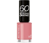 Rimmel London 60 Seconds Super Shine Nail Polish nail polish 235 Preppy Pink 8 ml