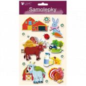 Stickers farm 3D Kozlík 13 x 23 cm