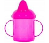 First Steps Mug with two handles pink 260 ml