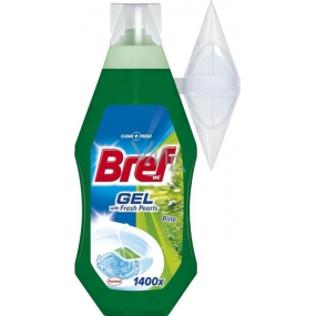 Bref Fresh Pearls Wc Gel Pine tekutý závěs 360 ml
