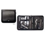 Kellermann 3 Swords Luxury manicure 12 piece Artical Leather Traveling Kit
