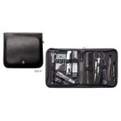 Kellermann 3 Swords Luxury Manicure Artical Leather Traveling Kit 12 parts