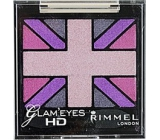 Rimmel London Glam Eyes HD Eyeshadow oční stíny 013 Sugar Rush 2,5 g