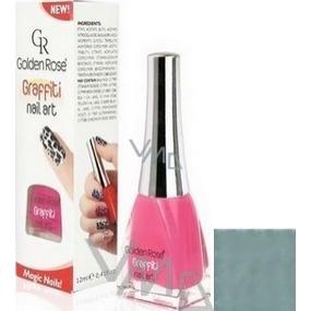 Golden Rose Graffiti Nail Art crackling nail polish shade 25 12 ml
