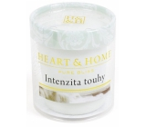 Heart & Home Intensity of desire Soy scented candle burns up to 15 hours 53 g