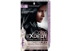 Schwarzkopf Color Expert barva na vlasy 1.1 Inkoustově černý