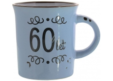 Albi Ceramic mug with the inscription 60 years 320 ml