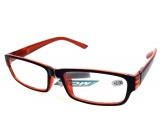 Glasses dioplast + 2 black orange MC2062