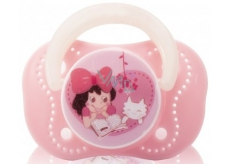 Baby Farlin Chu Chu Cherry Pacifier silicone comforter 0+ months pink