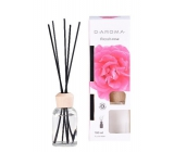 D-Aroma- French Rose - Rose aroma diffuser with sticks for gradual release of fragrance 100 ml