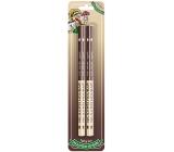 Nekupto Hobby wooden pencils Best mushroom picker 2 pieces