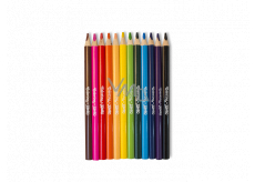 Colorino Jumbo crayons, triangular 12 colors