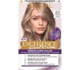 Loreal Paris Excellence Cool Creme hair color 8.11 Ultra ash light blond