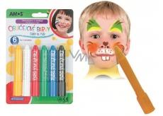 Amos Face Deco Face paint - set of 6 colors