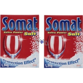 Somat dishwasher salt with protective effect of 2 x 1.5 kg
