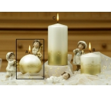 Lima golden stars twinkling candle balls 80 mm 1 piece