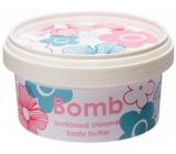 Bomb Cosmetics Sunkissed Shimmering Slunečně Přírodní třpytivé tělové máslo ručně vyrobeno 210 ml