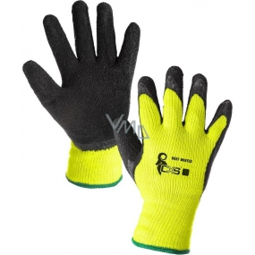 CXS Roxy Winter Insulated work gloves size 10 black-phosphorous
