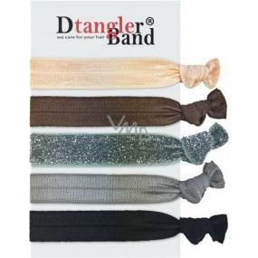 Dtangler Band Set Dark gumičky do vlasů 5 kusů