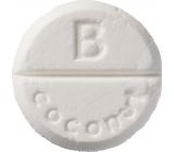 Bomb Cosmetics Coconut - Coconut aromatherapy shower tablet 1 piece