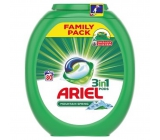Ariel Mountain Spring 3in1 Washable capsules for beautifully clean and scented linen without stains 80 pieces