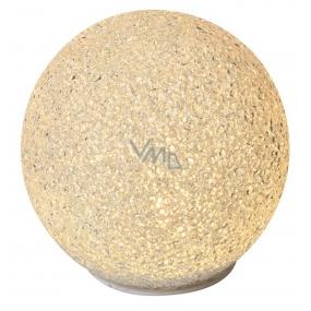 Emos Lighting ball 12 cm, warm white + timer