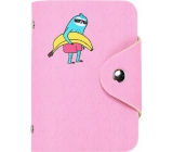 Albi Card holder with snap fastener Sloth 7.5 x 10.7 x 2.5 cm