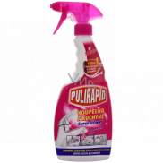 Pulirapid Bathroom and kitchen limescale remover with natural vinegar spray 500 ml