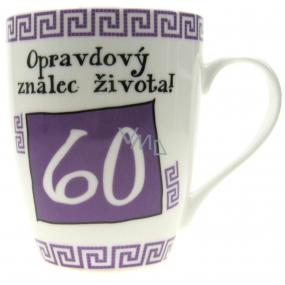 Nekupto Birthday Mug A true connoisseur of life! 60 350 ml
