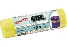 Folifix Sáčky do odpadkového koše 60litrů, 72 x 55 cm, 30 kusů