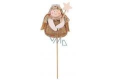 Angel jute recess 7 cm + skewers no.1