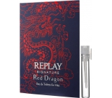 Replay Signature Red Dragon eau de toilette for men 2 ml, vial