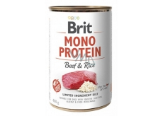 Brit Mono Protein Beef with rice dog food 400 g