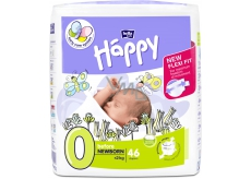 Bella Happy 0 Before Newborn from 0 - 2 kg diapers for premature babies and low birth weight newborn babies 46 pieces