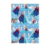 Ditipo Gift wrapping paper 70 x 200 cm Christmas Disney Ice Kingdom blue