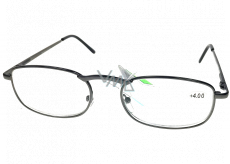 Berkeley Reading glasses +4.0 gray metal 1 piece MC2005